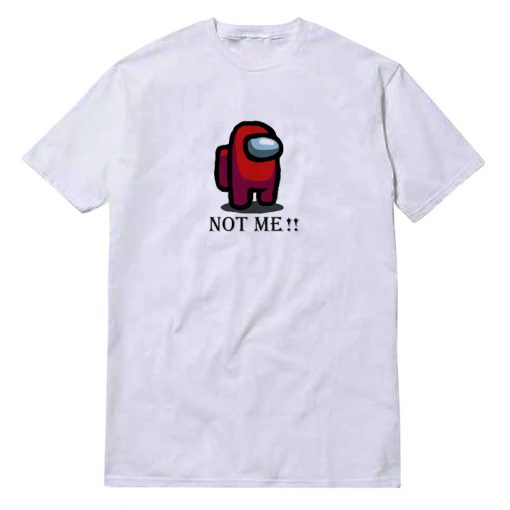 Among Us Not Me Icon T-Shirt