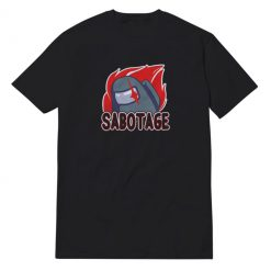 Among Us Sabotage Icon T-Shirt