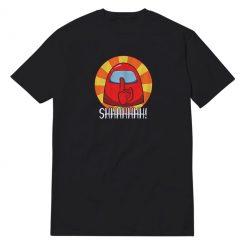 Among Us Impostor Shhhhhhh T-Shirt