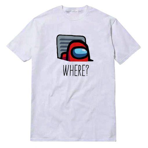 Among Us Where Icon T-Shirt