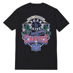 Dodgers Champions Black T-Shirt