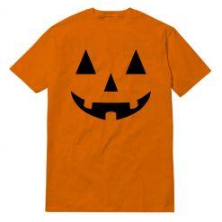 Pumpkin Halloween Orange T-Shirt