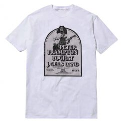 Peter Frampton Foghat J Geils Band Unisex T-shirt