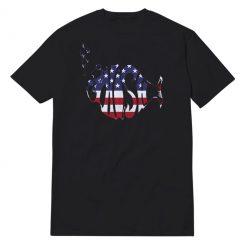 Phish American Flag Black T-Shirt