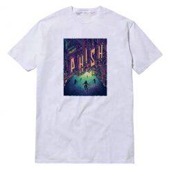 Phish Band Galaxy City Poster T-Shirt
