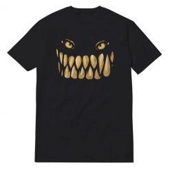 Monster Face Black T-Shirt