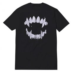 Vampire Teeth Black T-Shirt