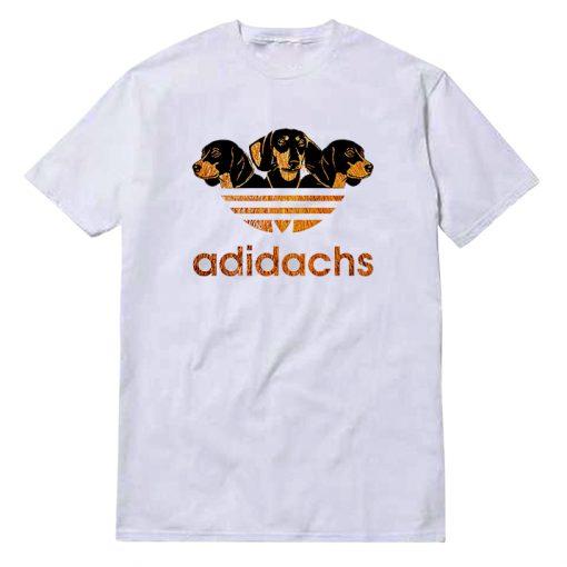 Adidas Adidachs Dog Parody T-Shirt