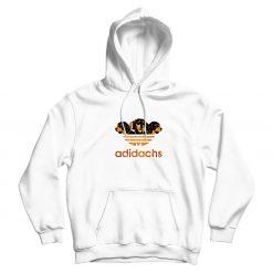 Adidas Adidachs Dog Parody Hoodie