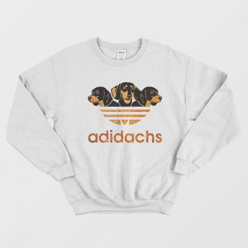Adidas Adidachs Dog Parody Sweatshirt
