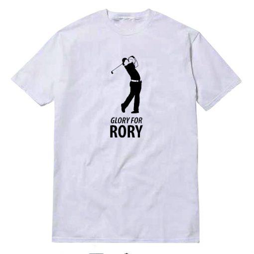 Rory McIlroy White T-Shirt