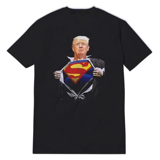 Trump Superman President T-shirt