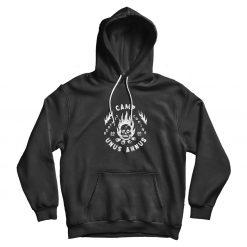 Camp Unus Annus Black Hoodie