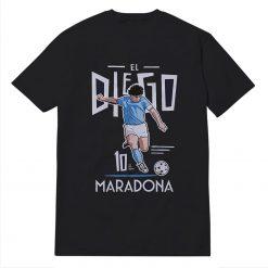 Official RIP Diego Maradona Argentine Soccer Legend T-Shirt