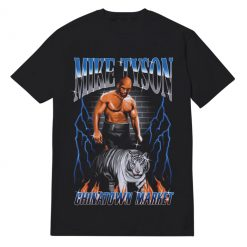 Vintage Style Mike Tyson T-shirt For Unisex