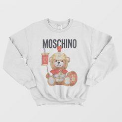 Moschino Couture Roman Teddy Bear Sweatshirt