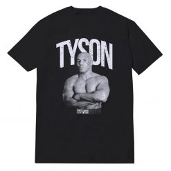 Mike Tyson Boxing Baddest Man On The Planet Official T-Shirt