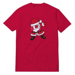 Mens Boys Dabbing Red T-Shirt