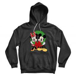 Natal Do Mickey & Minnie Mouse Hoodie