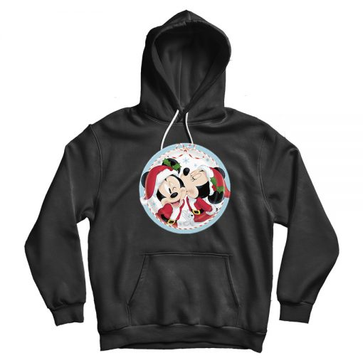 Kiss From Minnie Mouse Christmas Hoodie