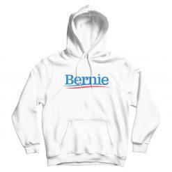 Bernie Sanders White Hoodie