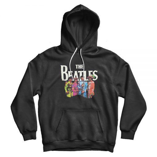 Beatles Lonely Hearts Black Hoodie