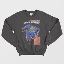 Ratty Dance Planet Black Unisex Sweatshirt