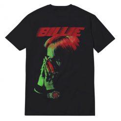 Billie Hand To Face Black T-Shirt