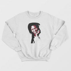 Whoopi Goldberg White Sweatshirt