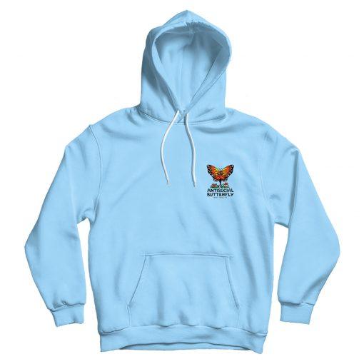 Anti-Social Butterfly Dark Pullover Hoodie