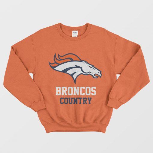 Carter's NFL Denver Broncos Sweatshirt For Woman's Or Men's