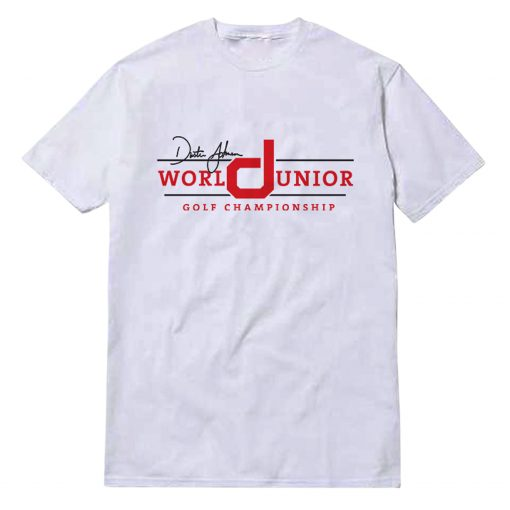 Dustin Johnson World Junior Golf Championship Unisex T-Shirt