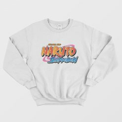 Naruto Shippuden Anime Logo Sweatshirt Woman's Or Men's