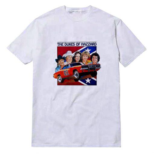 The Dukes of Hazzard Bo Luke Daisy Duke 1979 T-shirt