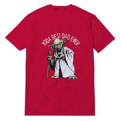 Yoda Best Dad Ever T-shirt