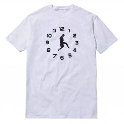 Ministry Of Silly Walks Clock T-Shirt