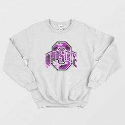 Ohio State Purple Logo Sweatshirt