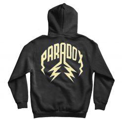 PRDX Black Hoodie Back
