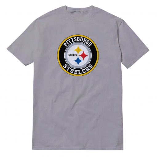 Pittsburgh Steelers Silver T-Shirt
