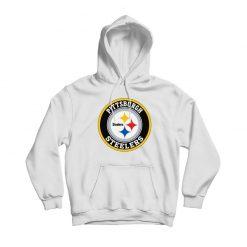 Pittsburgh Steelers White Hoodie