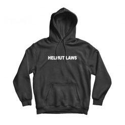 Prince Taee Helmut Laws Black Hoodie