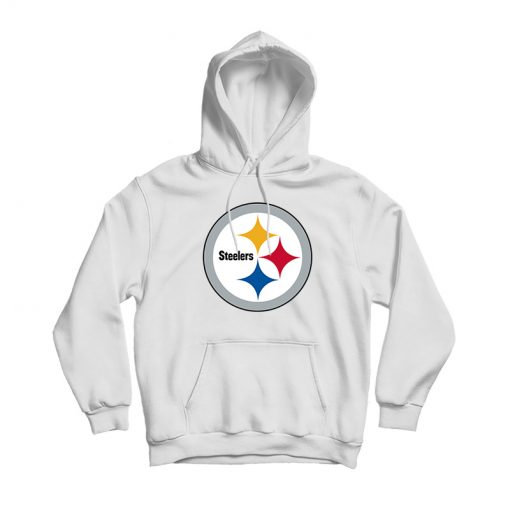 Steelers White Hoodie