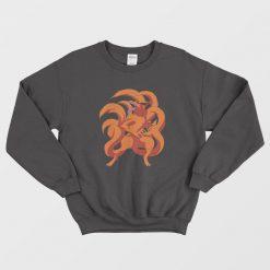 Angry Kurama Nine Tails Sweatshirt