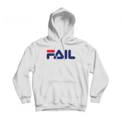 Fail Funny Parody Logo Hoodie