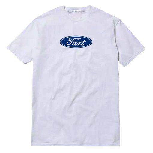 Fart Parody Of Ford Logo T-Shirt