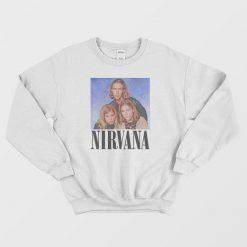 Hanson Band Nirvana Parody Sweatshirt
