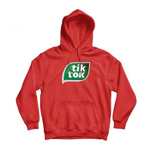TikTok Parody Of Tic Tac Candy Logo Hoodie